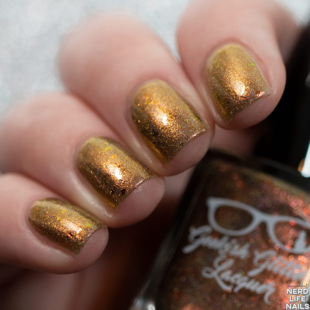 Geekish Glitter Lacquer - I'm The Thing That Monsters Have Nightmares About