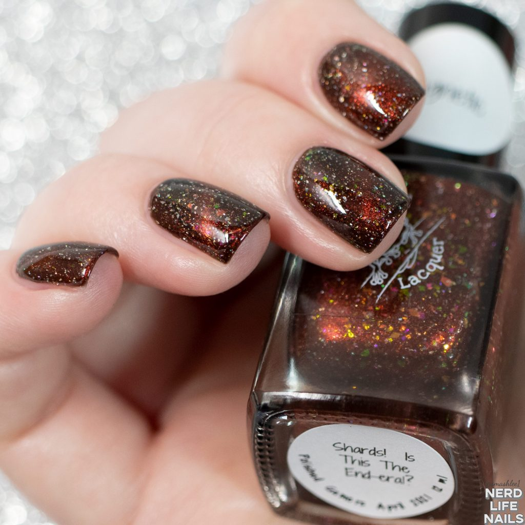 Red Eyed Lacquer - Shards! Is this the End-eral?
