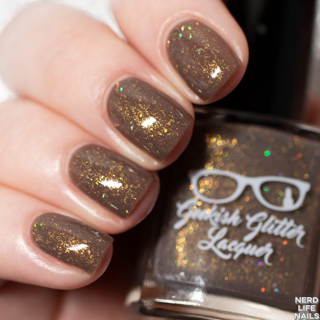 Geekish Glitter Lacquer - To Forgive Is An Act Of Compassion