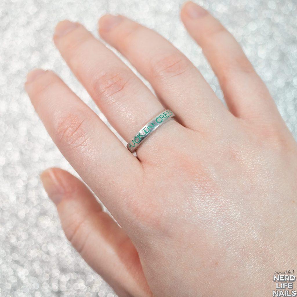 Profound Sass - Fuckin Creepers Adjustable Ring