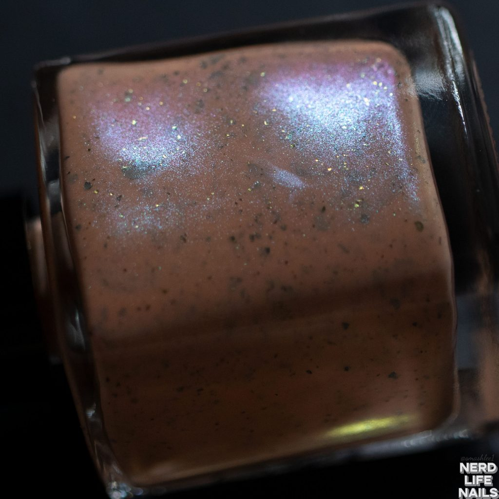 Geekish Glitter Lacquer - Creamsicle Punch