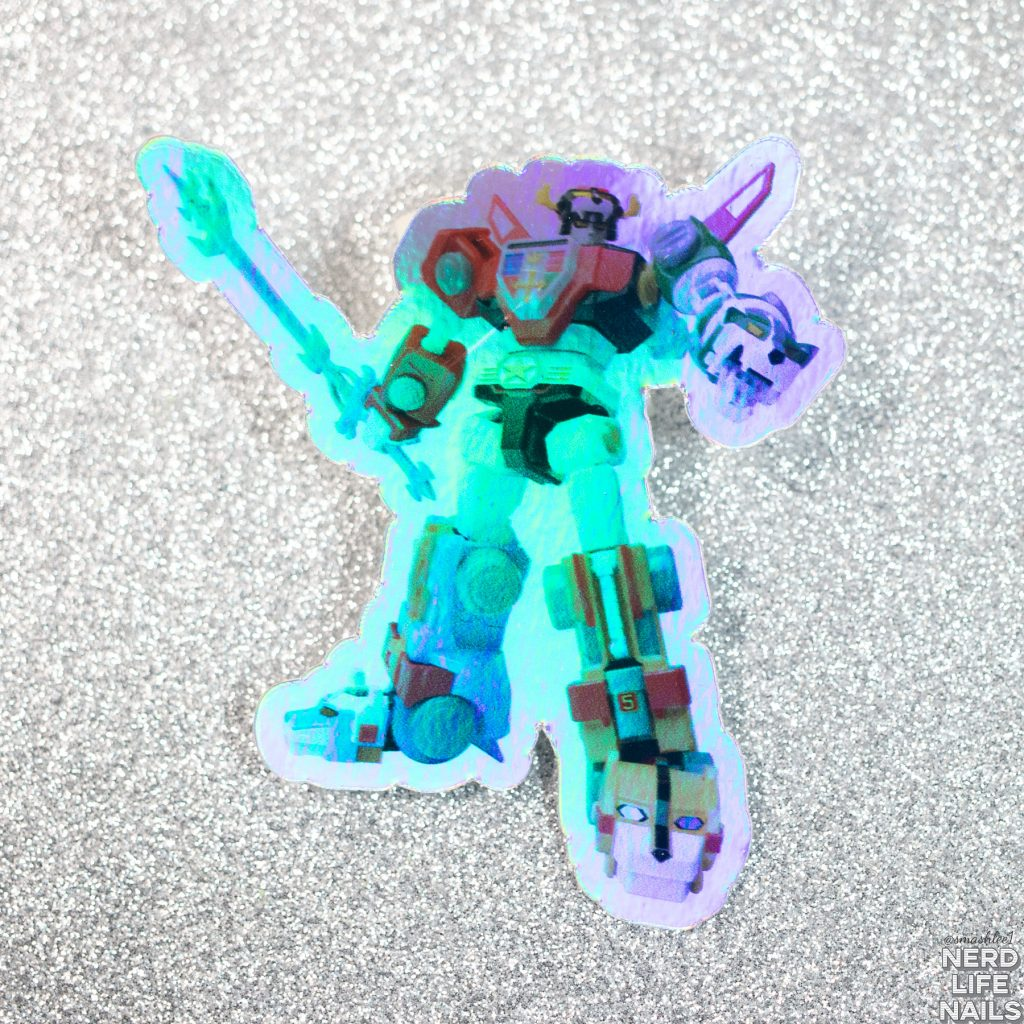 Red Eyed Lacquer - Voltron Sticker