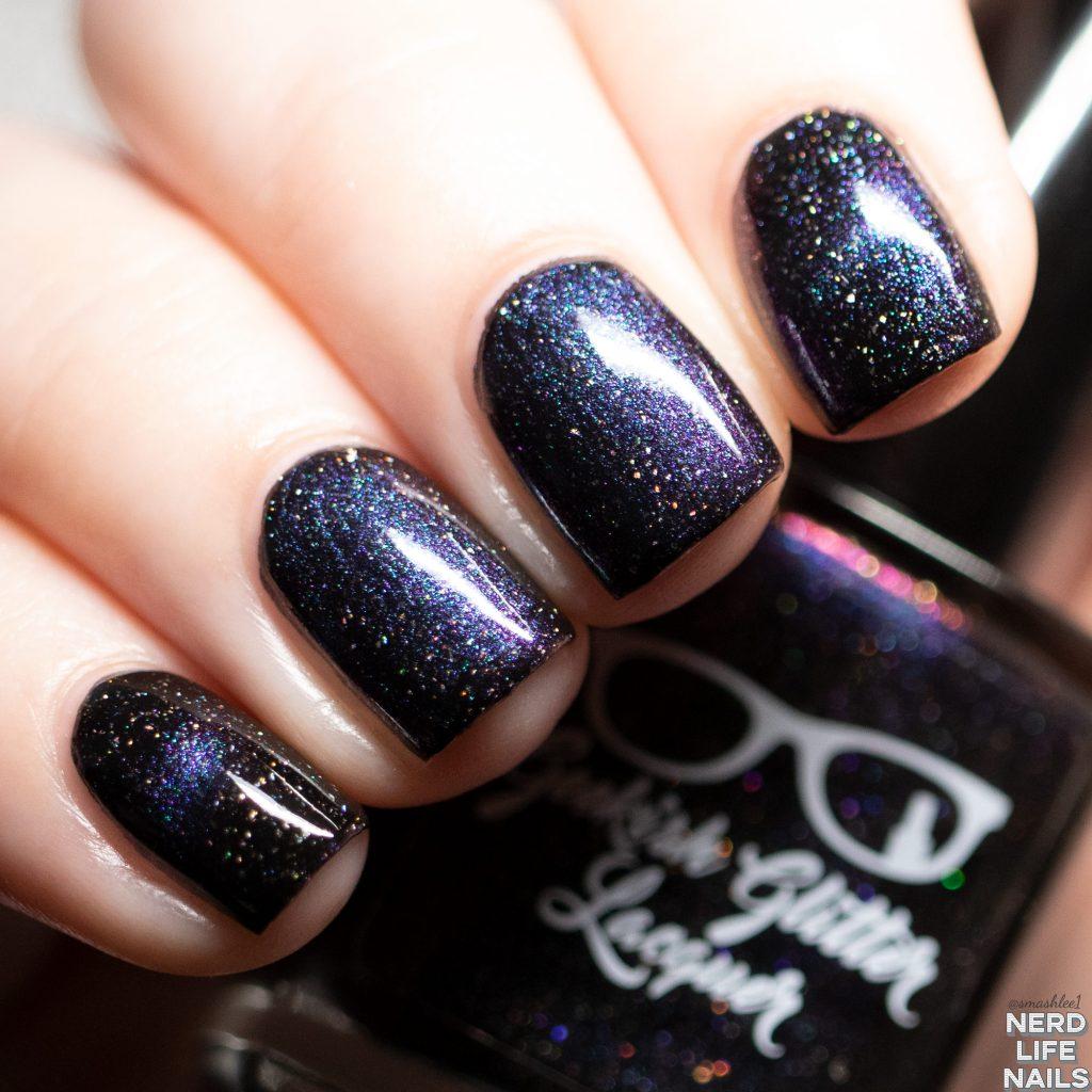 Geekish Glitter Lacquer - Boogie Bump