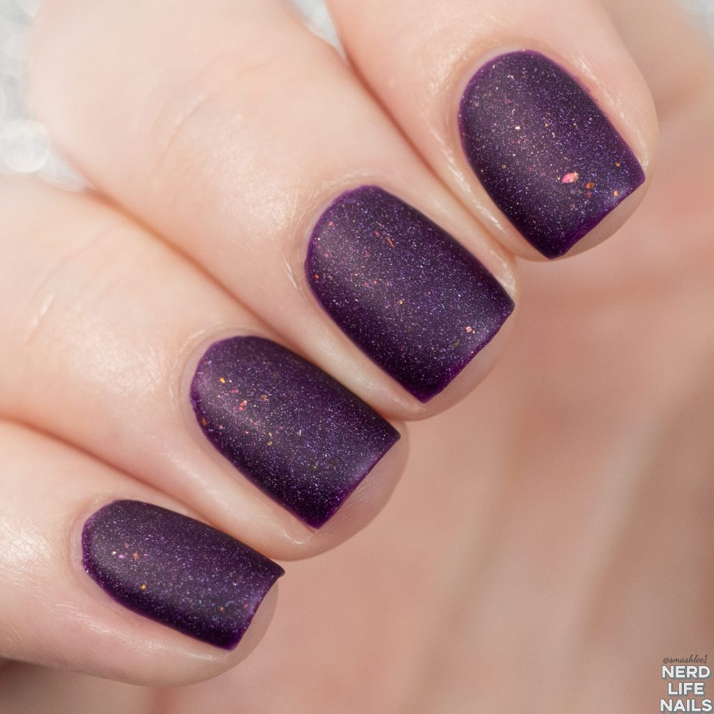 Geekish Glitter Lacquer - Princess Nattie