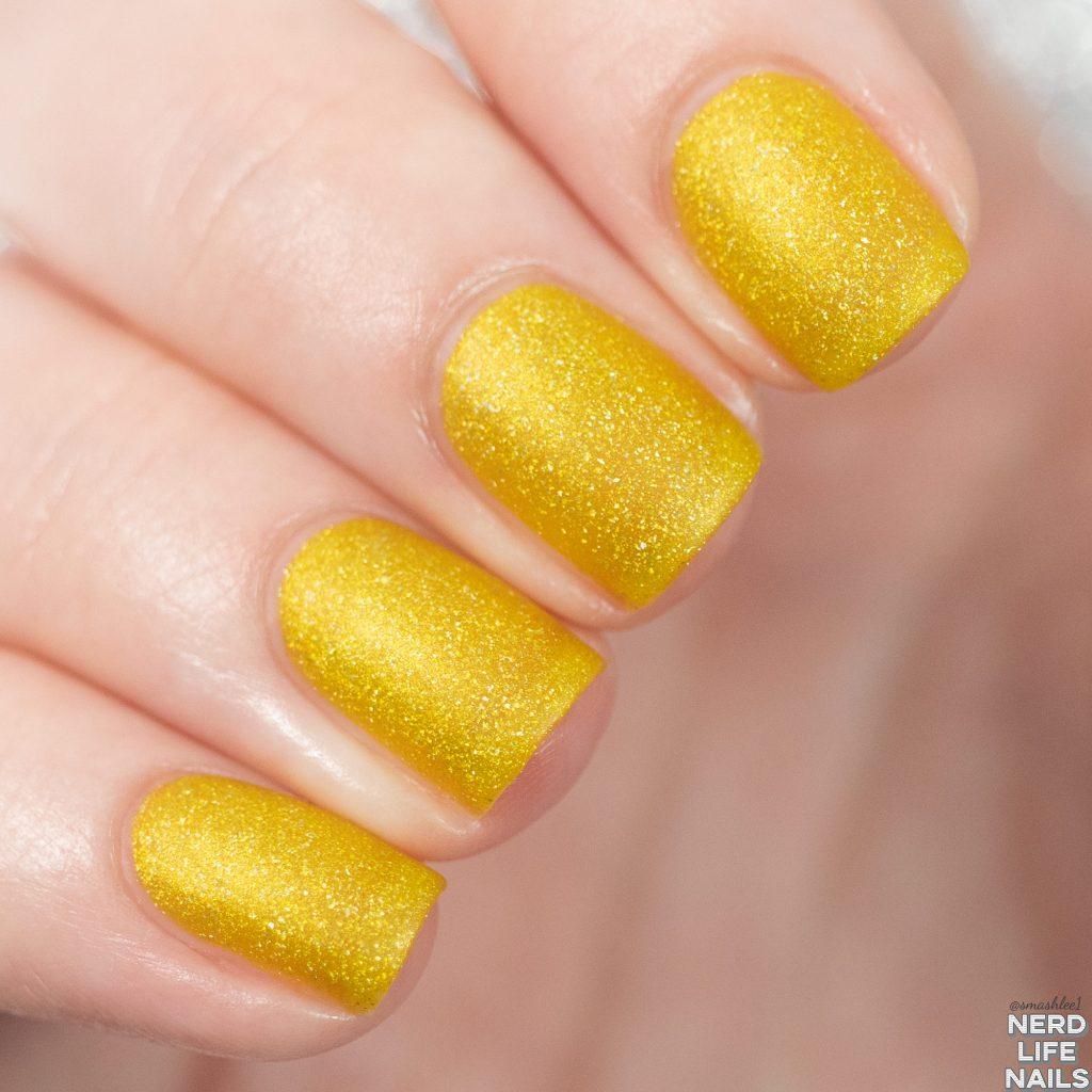 Geekish Glitter Lacquer - Mountain Dew