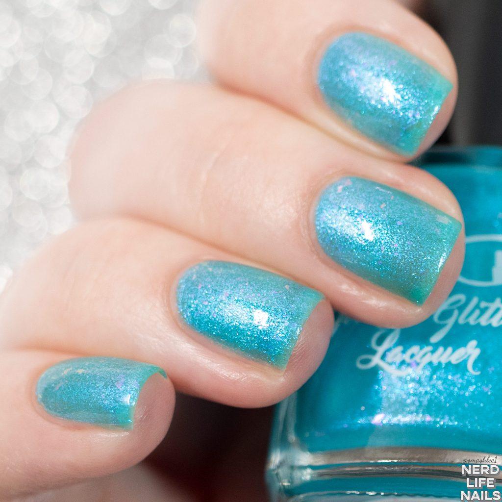 Geekish Glitter Lacquer - Tipsy Mermaid