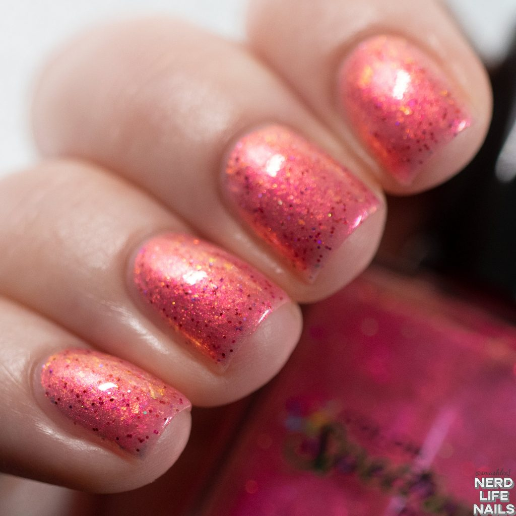Color Spectrum Polish - I Turned My Hair Pink!