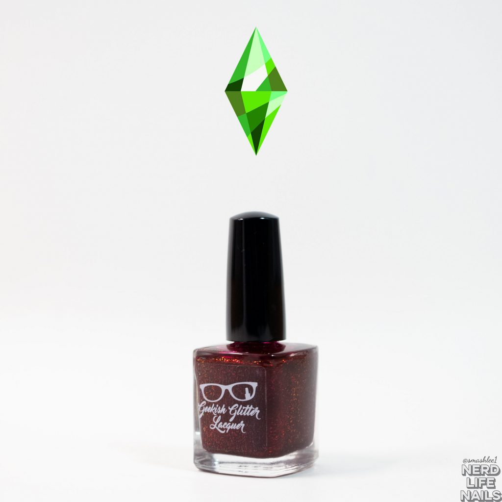 Geekish Glitter Lacquer - UFO Abductee